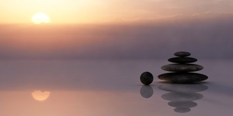 Urlaub Meditation
