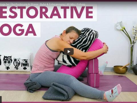 Stress durch Yoga