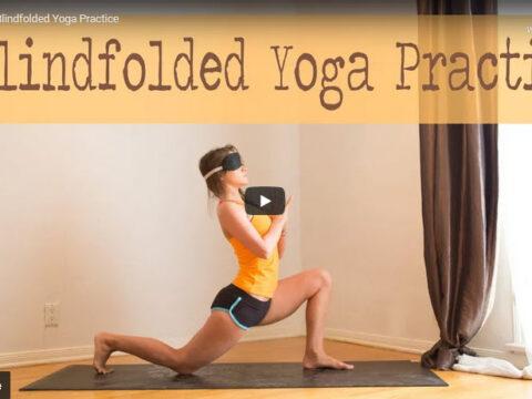 Blindfold Yoga