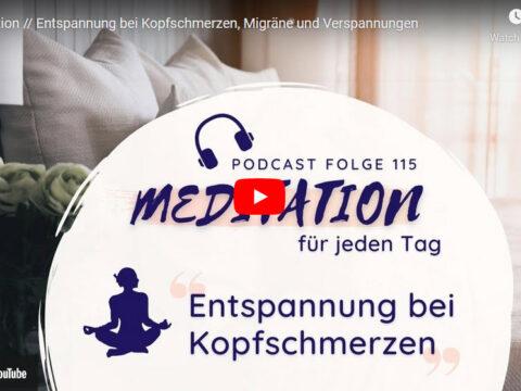 Meditation gegen Migräne