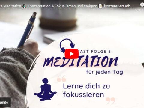 Mediation-Fokus-Halten